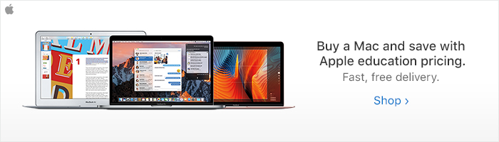 Apple Education Discounts | McMaster University Campus Store